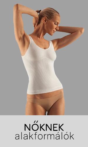 Női alakformáló farmacell, fitness ruházat, karcsúsító hatás, hasleszorító