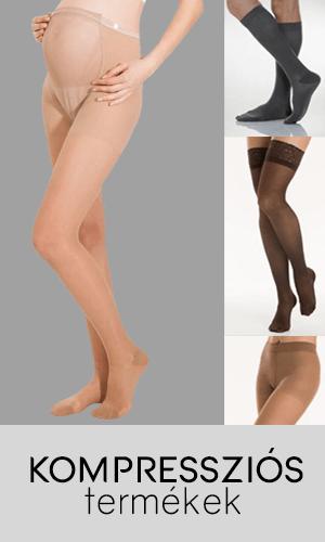 Kompressziós harisnyák, térdfixek, combfixek, zoknik