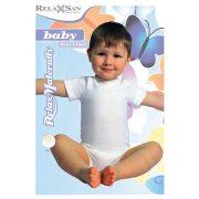 5931: Rövid ujjú body-Milk (tejszálat tartalmaz)