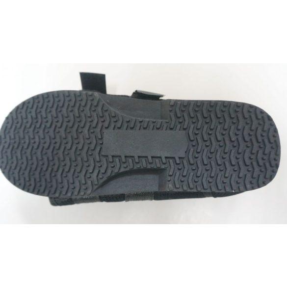 DonMedHun Járótalp  jobb és bal lábra, gipszelt kötözött lábra WL- belső talphossz 26 cm (38-40) 02 Fekete