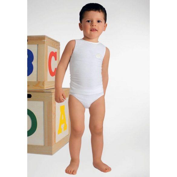 5941: Trikó-Milk (tejszálat tartalmaz) 6-36 hónapos korig egy méret - Fehér