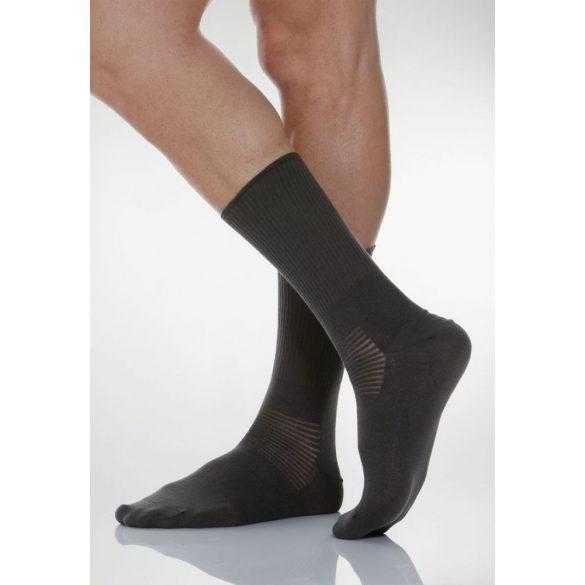 550: Ezüstszálas zokni X-Static 4-L - Fekete