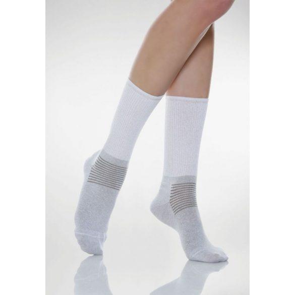 550: Ezüstszálas zokni X-Static 3-M - Fehér