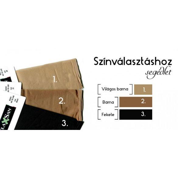 880: 140 den-es harisnyanadrág /18-22 Hgmm/ 5XL 21 Barna