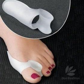Kényelmi bütyökvédők, lábujjgyűrűk, sapkák stb.
