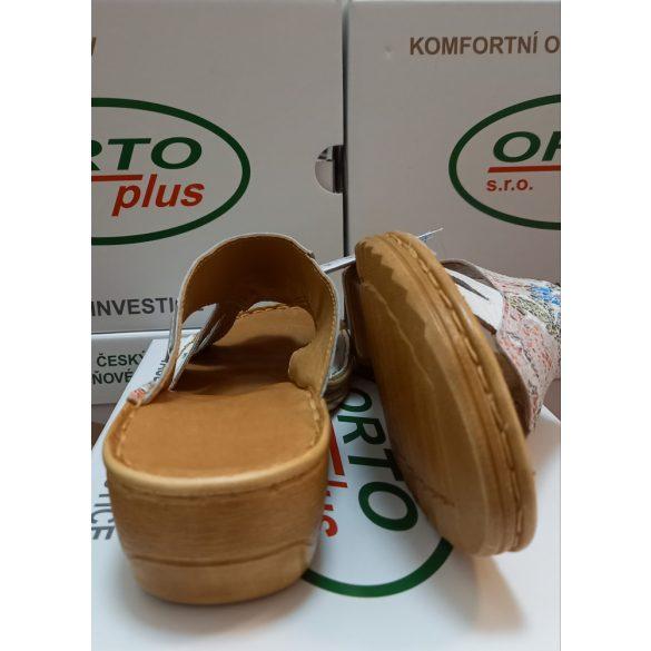Orto Plus Bőr Papucs