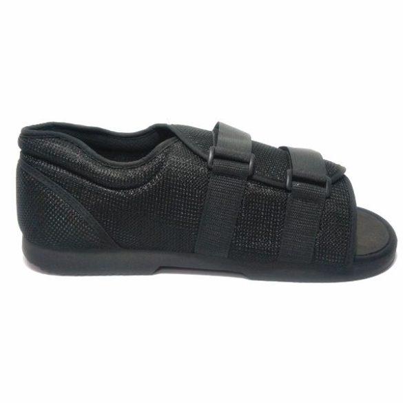 DonMedHun Járótalp  jobb és bal lábra, gipszelt kötözött lábra MM- belső talphossz 26,5 cm (40-42) 02 Fekete
