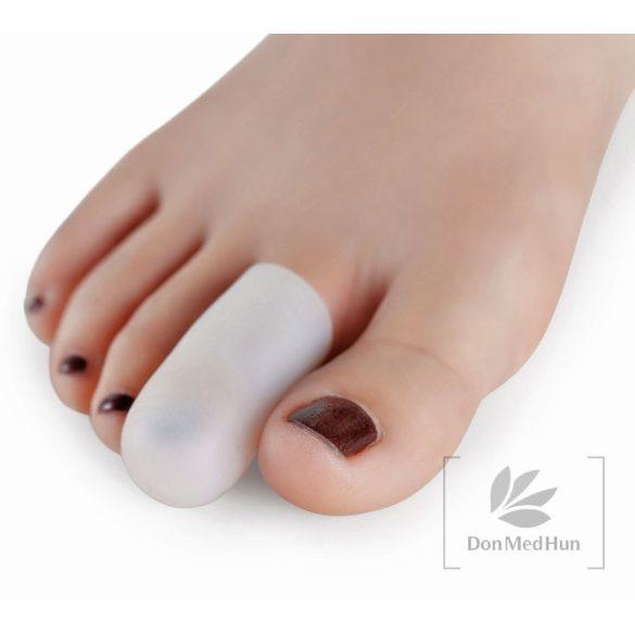 DonMedHun Kényelmi Lábujjvédő Sapka L nagy 01 Fehér