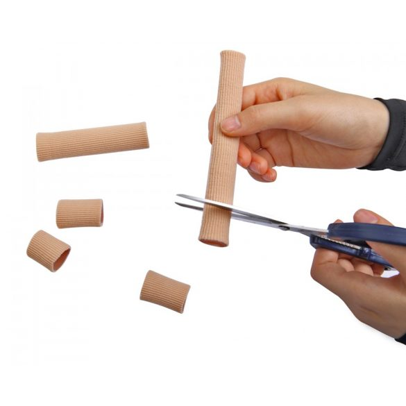 DonMedHun Kényelmi Vágható Lábujjvédő Gyűrű L-es Testszínű