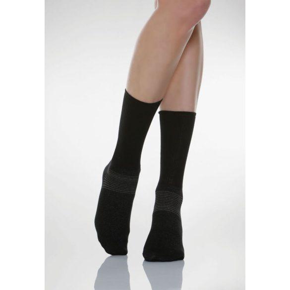 550: Ezüstszálas zokni X-Static 1-XS - Fekete