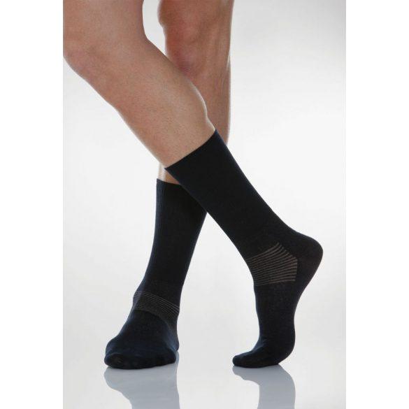 550: Ezüstszálas zokni X-Static 5-XL - Fekete