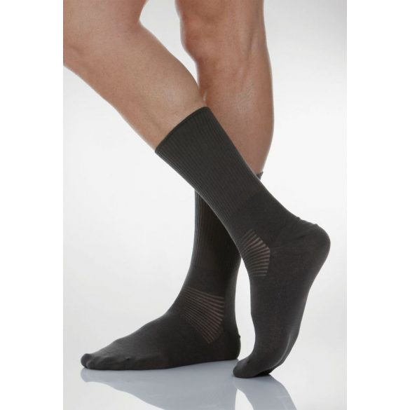 550: Ezüstszálas zokni X-Static 6-XXL - Fekete