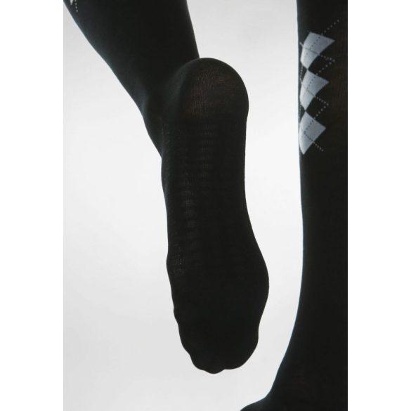 820B: Pamut térdfix talp maszázzsal (18-22 Hgmm) 2 - Fekete