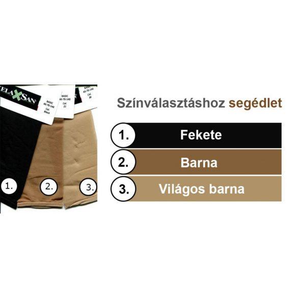 430: 40 den-es harisnyanadrág /8-11 Hgmm/ - 3-as 36 világos barna
